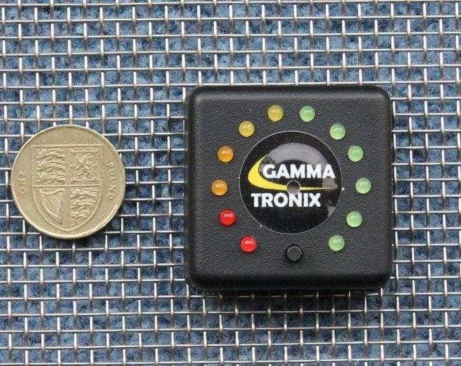 Led Battery Bank Monitor : Gammatronix v with alarm battery monitor led level