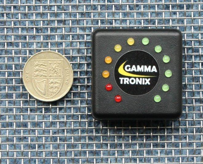 Led Battery Bank Monitor : Gammatronix v led battery monitor level meter