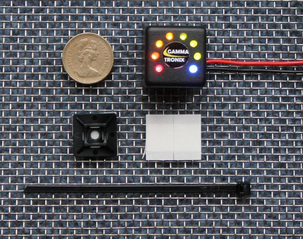 Solar Battery Meter : Voltacube led v solar cell charge battery monitor
